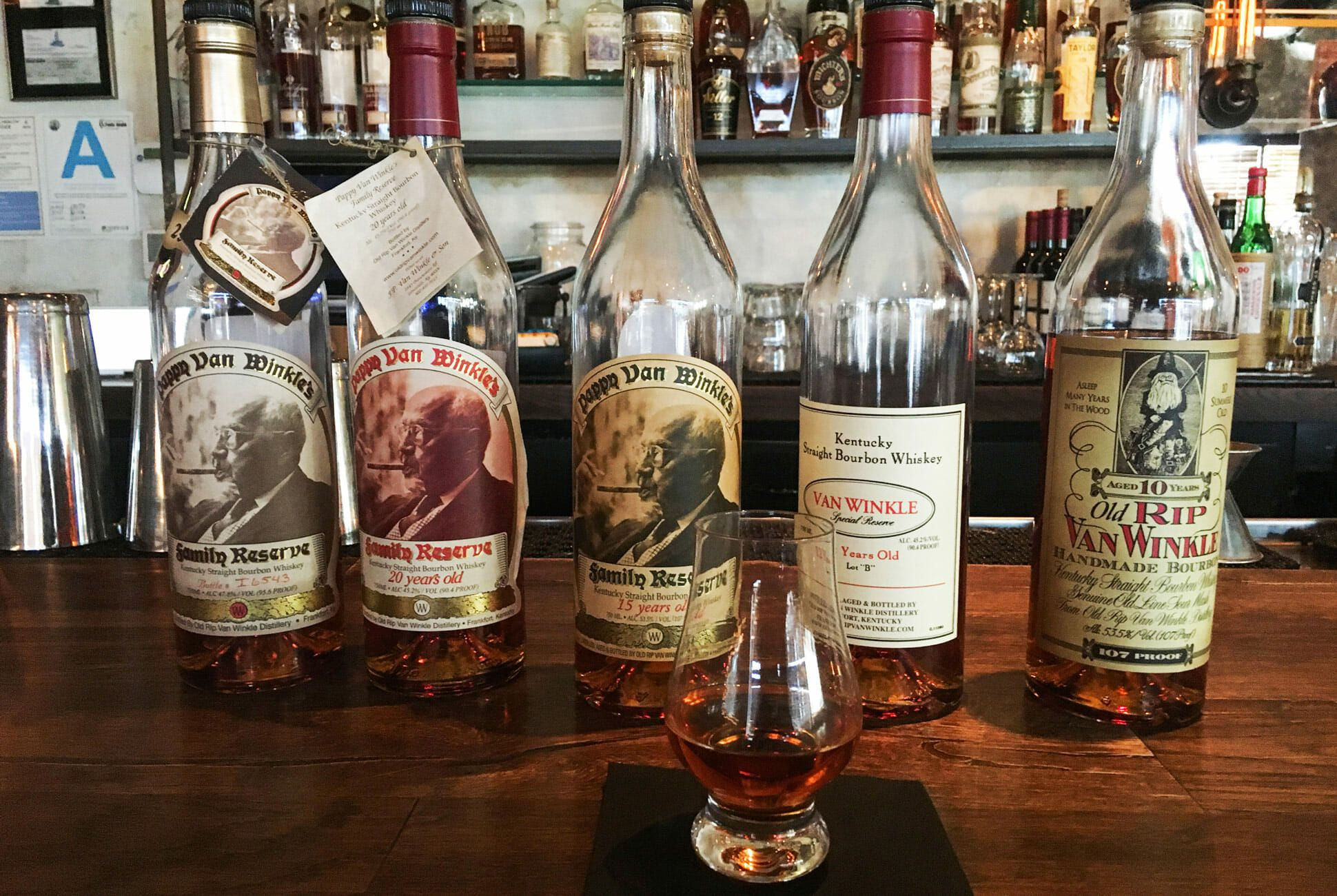 I Tried To Buy Pappy Van Winkle Bourbon For Retail Price