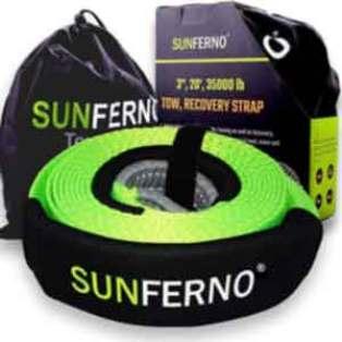 Sunferno Recovery Tow Strap 35000lb