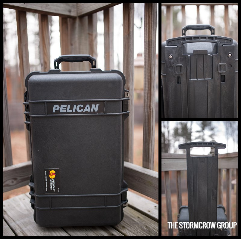 Pelican 1510 Carry On Case Stand Up
