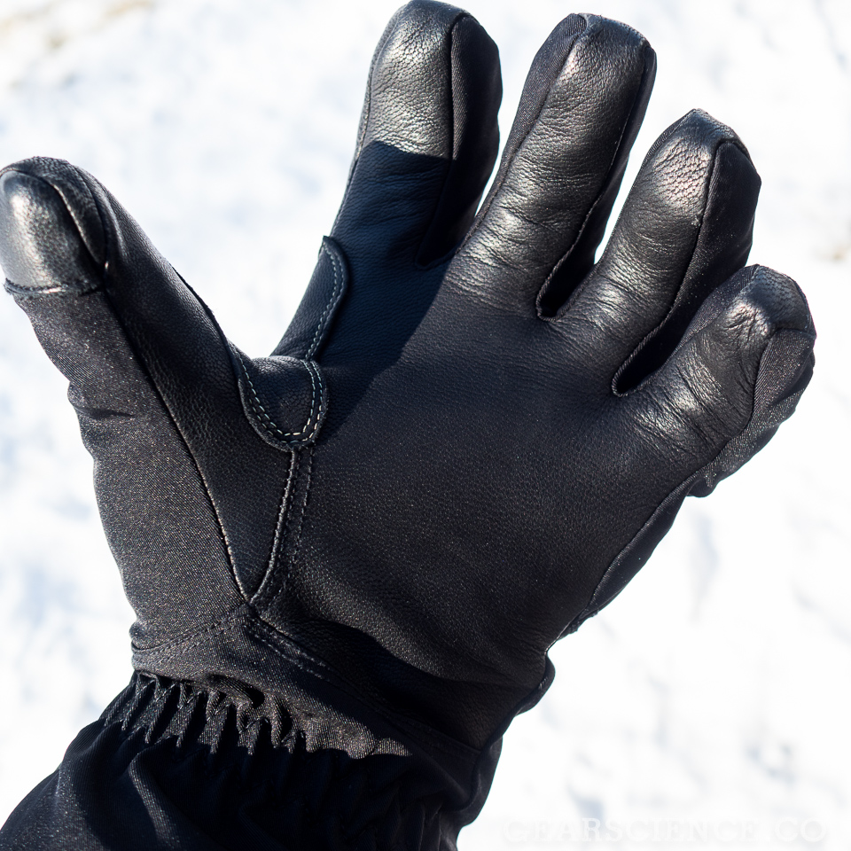 Black Diamond Punisher Glove Review - Palm