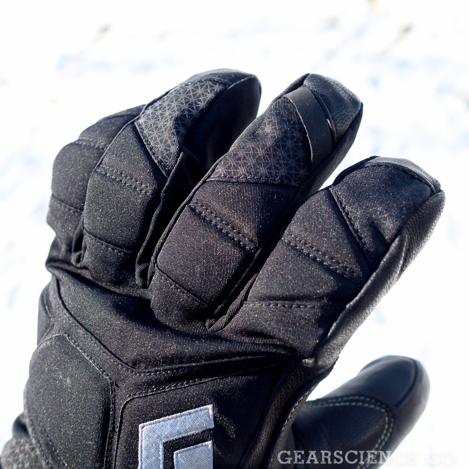 Black Diamond Punisher Glove Review - Padding