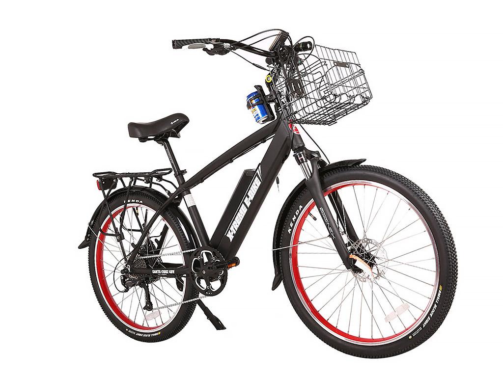 X Treme Santa Cruz 48 Volt Electric Beach Cruiser Bicycle