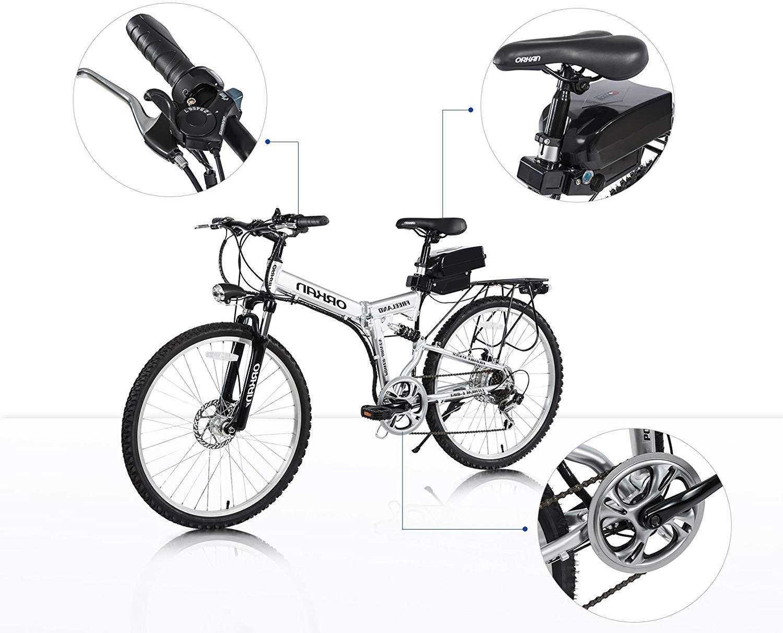 Orkan Folding Electric Bike