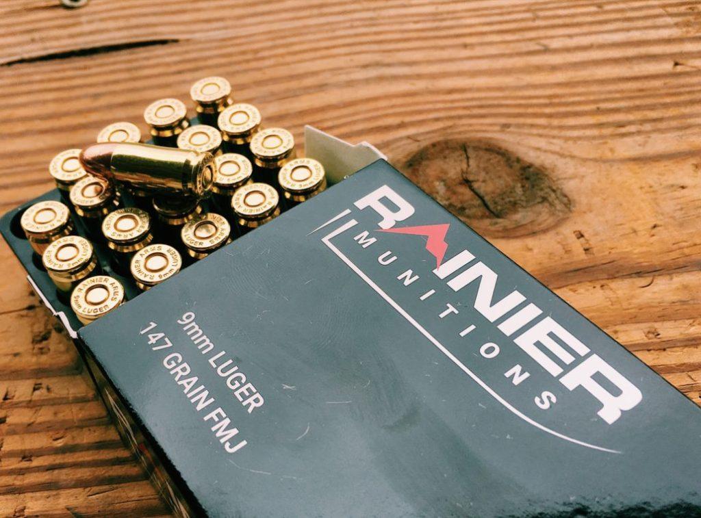 Rainier Munitions 9MM 147 Grain Ammo