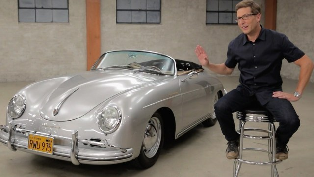 Spike Feresten and Porsche 356