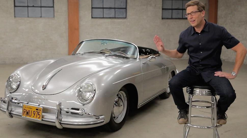 Spike Feresten and Porsche 356