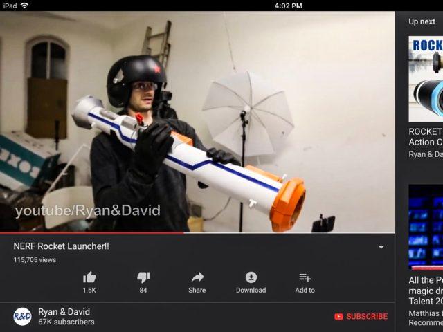 Ryan&David make a Nerf Bazooka