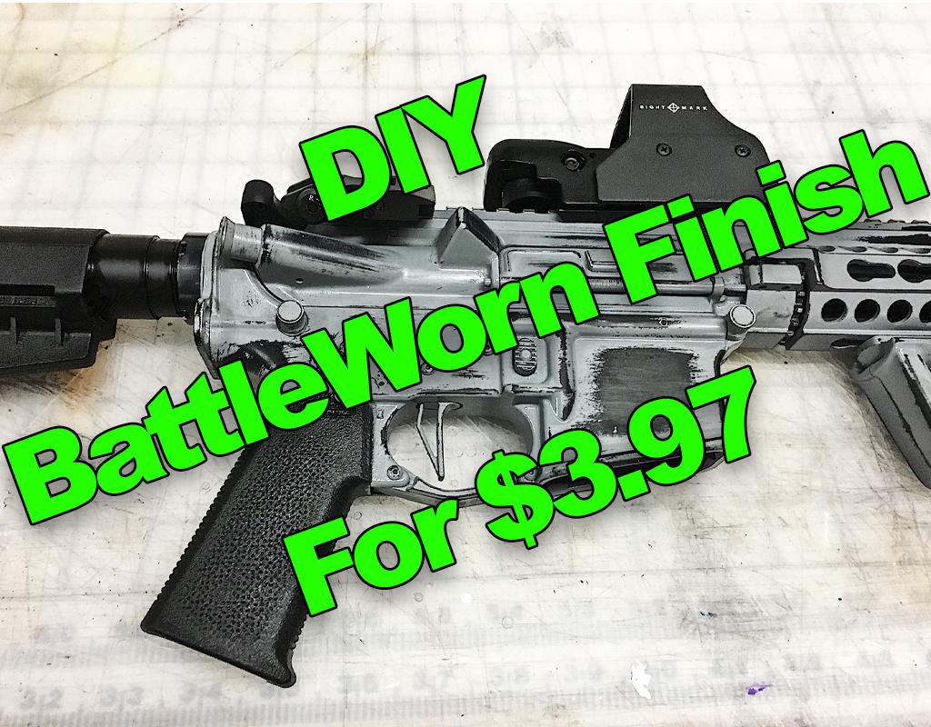 Battleworn Gun Finish