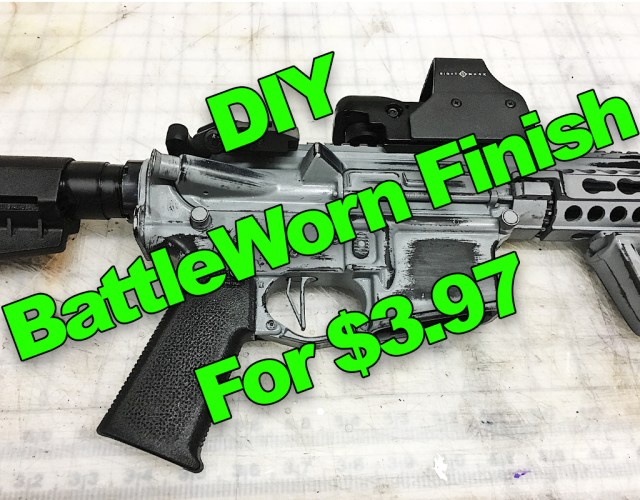 Battleworn Gun Finish