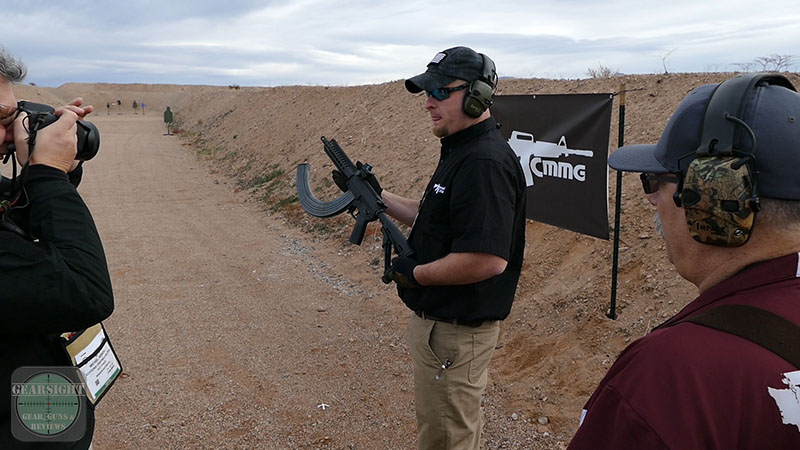 SHOT Show 2016 – CMMG Mk47 K