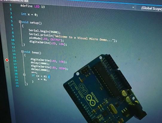Writing Arduino Code using Visual Studio and Visual Micro