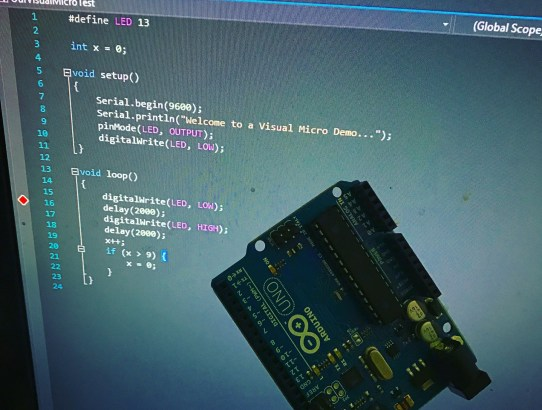 Writing Arduino Code using Visual Studio and Visual Micro