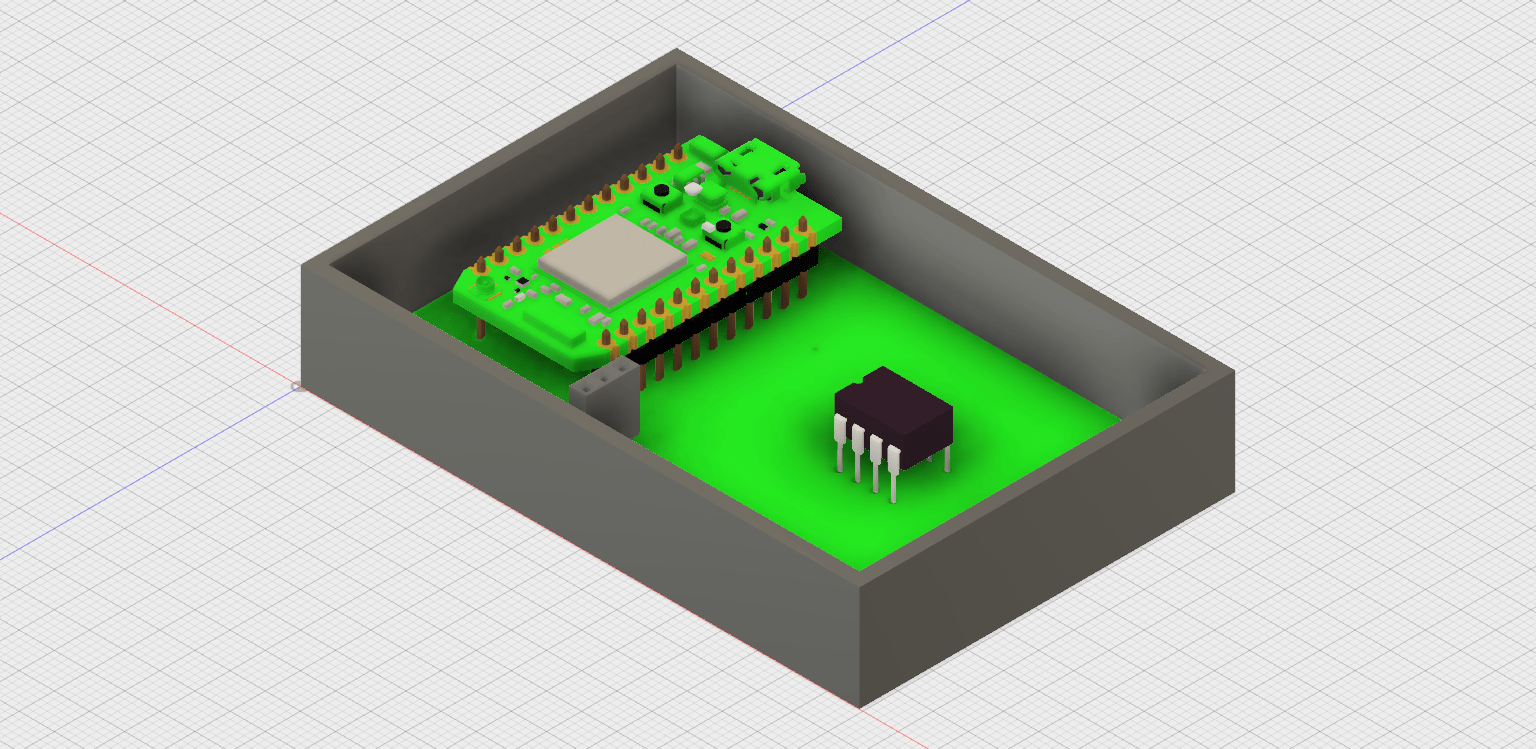 3d Printed Enclosures With Eaglecad And Fusion 360 Gears Of Resistance Eagle Cad Controller Schematic Display