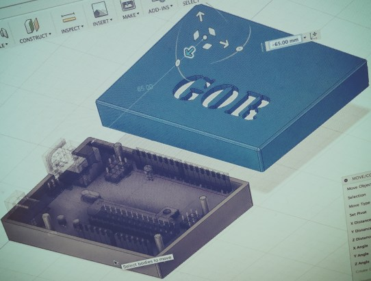 3D Printable Enclosure Design with Fusion 360