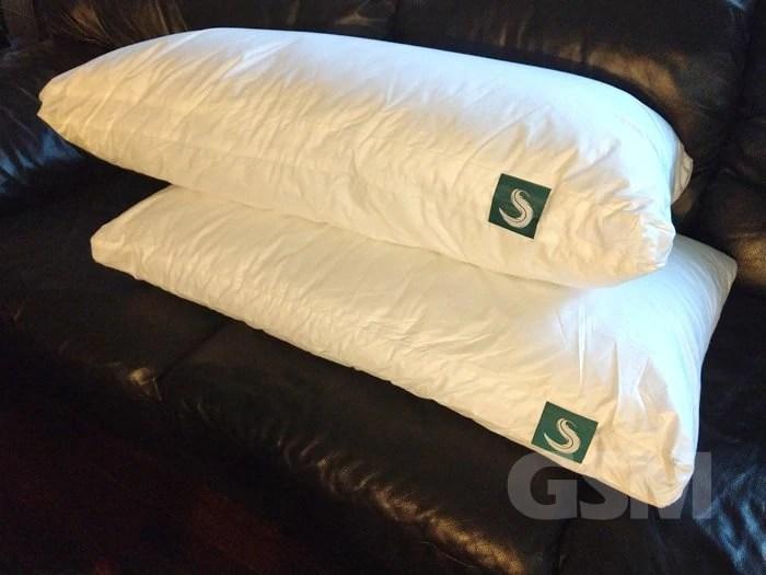 sleepgram pillow review 3 in 1