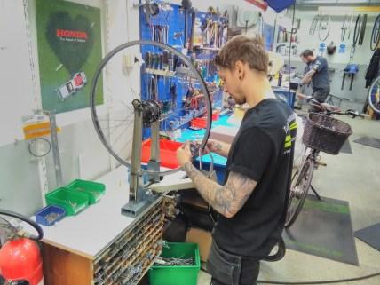 Mechanic at CM Cykel