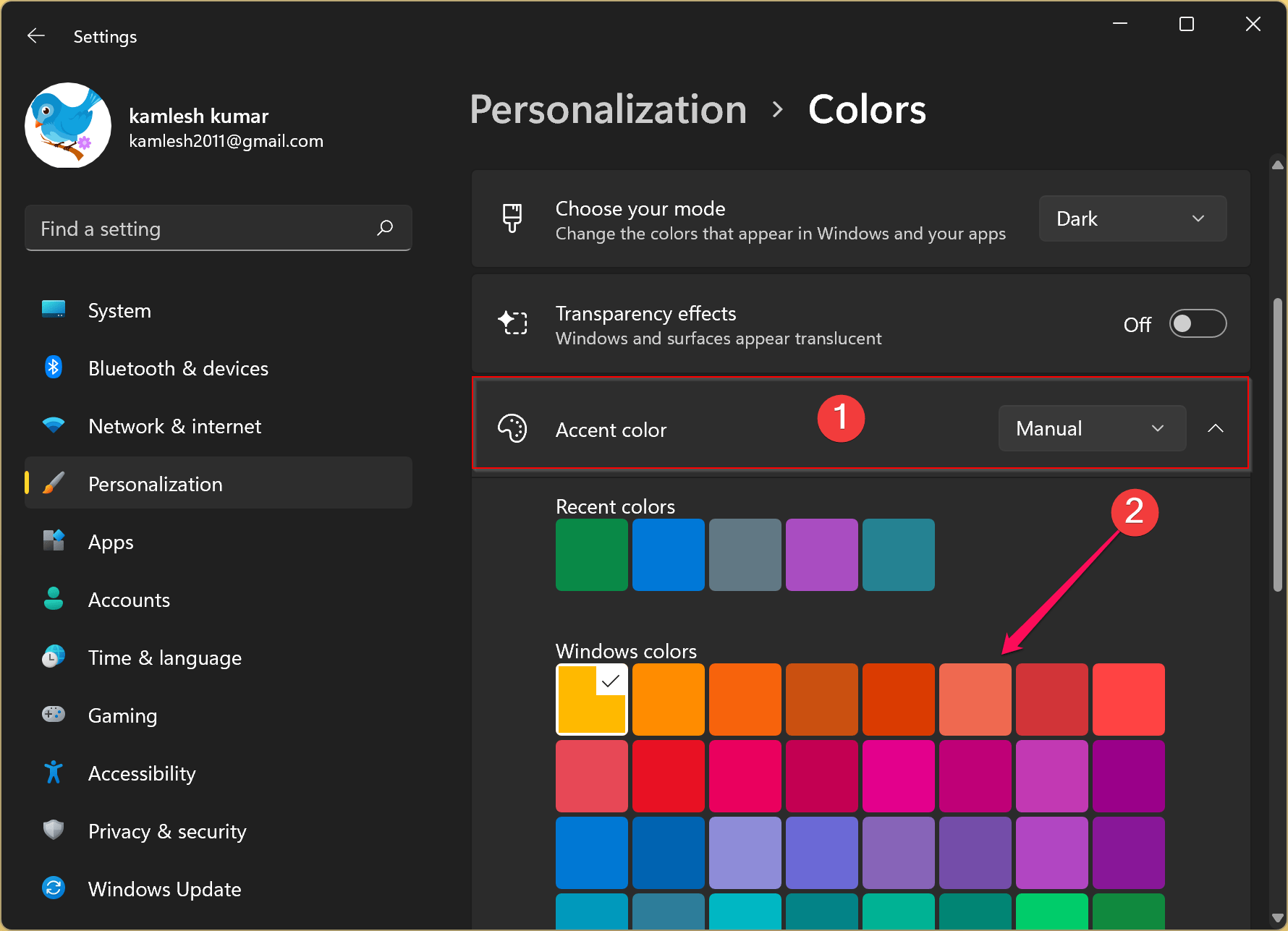 How to Change the Taskbar Color on Windows 11?