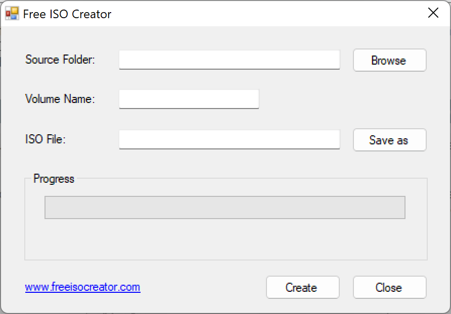 Free ISO Creator: A tool to create ISO image from your files and folders