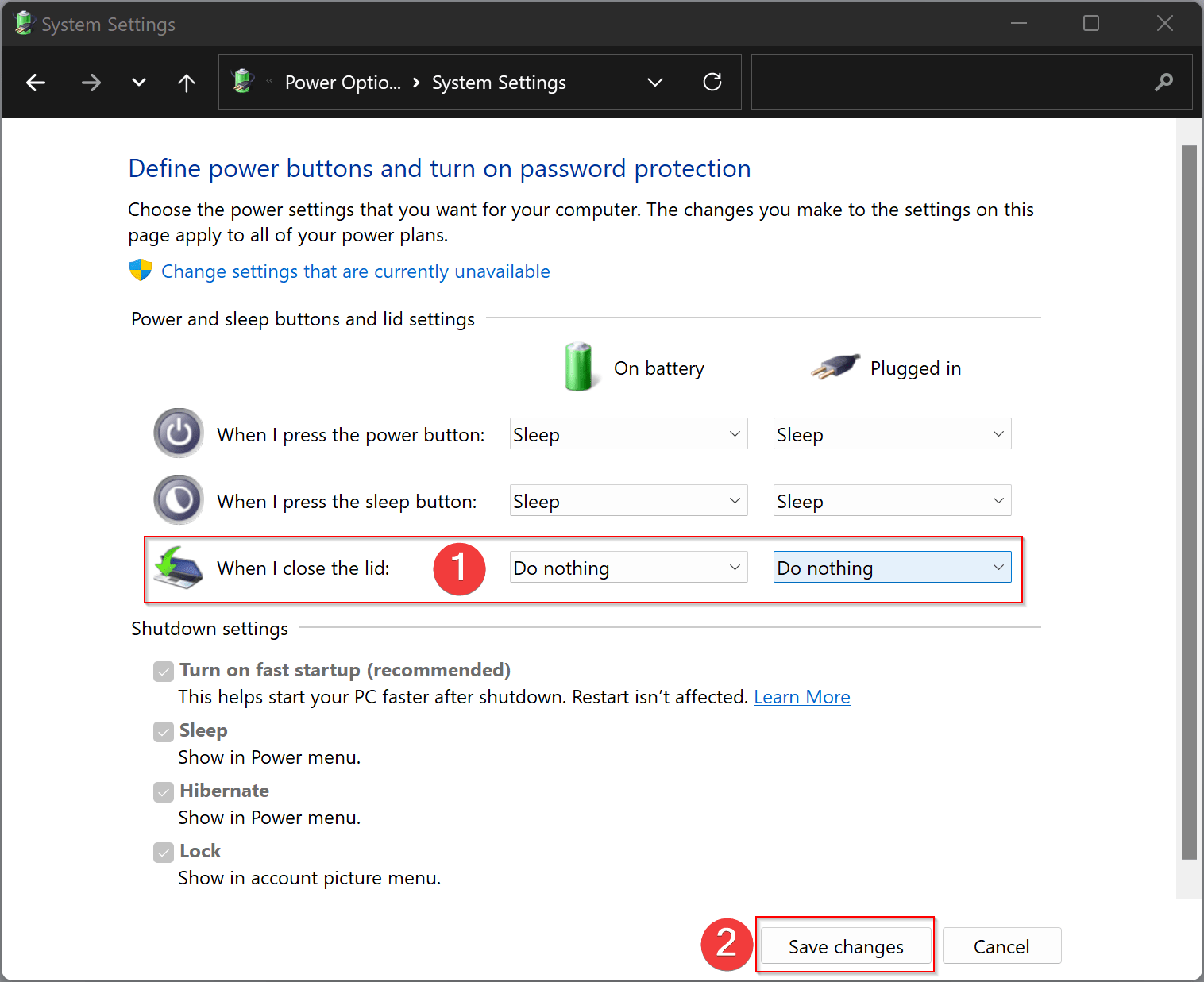 How to Close Laptop Lid on Windows 10 and Still Use an External Monitor?