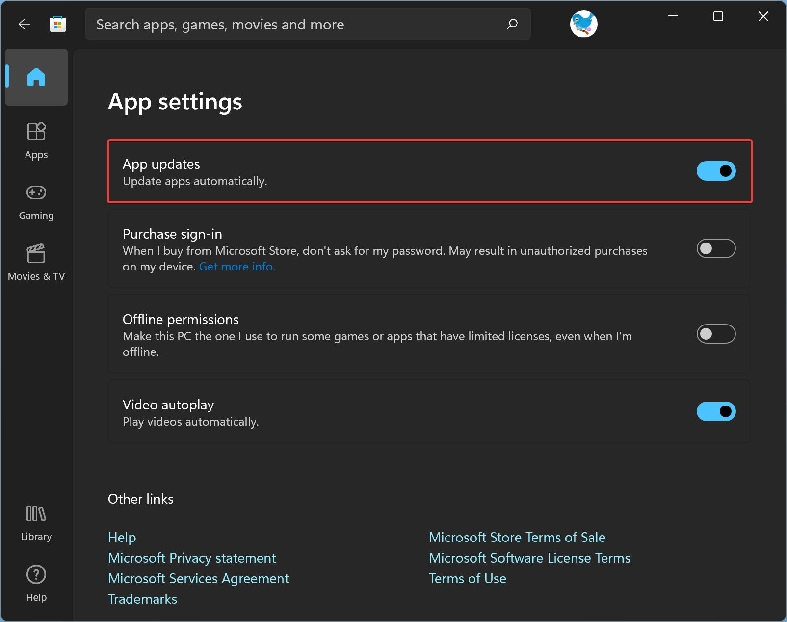 How to Enable or Disable Automatic Update of Microsoft Store Apps on Windows 11?