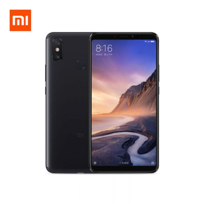 gearvita Xiaomi Mi Max 3 Snapdragon 636 SDM636 8コア BLACK(ブラック)