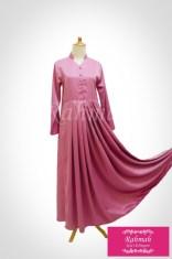 bilqis dress dusty pink3