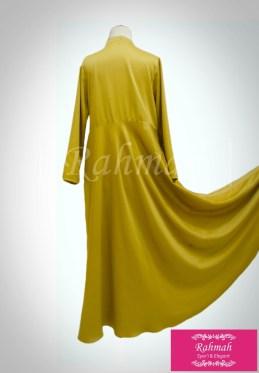bilqis dress gold 2b