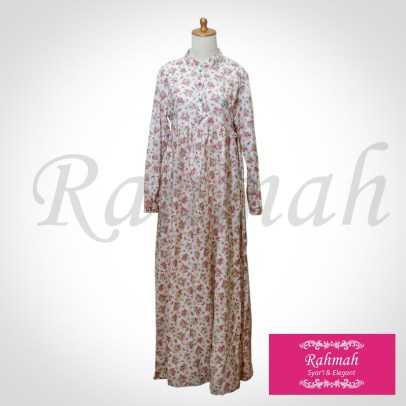fathiyya dress cream size XL