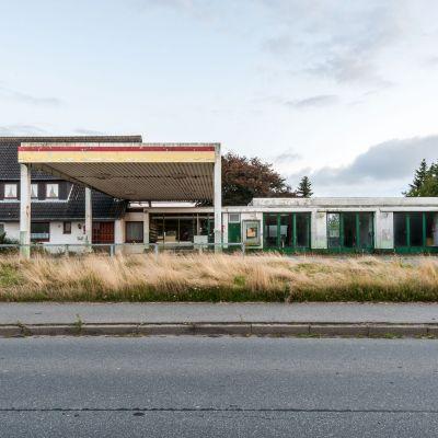 Einzige Tankstelle Nordstrand (Nordsee)