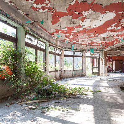Ruine de restaurant