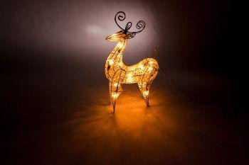 Aussenbereich LED Deko Leuchte mit Lichteffekten