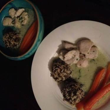 Abendessen nach dem Breifrei-Kochbuch. Schmeckt herrlich!