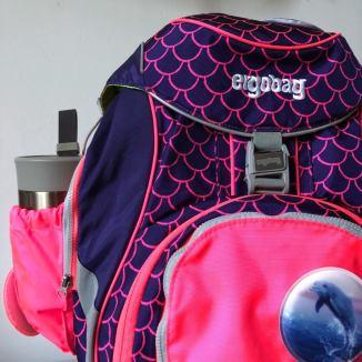 Sicherheitsset in rosa: So ist der Schulrucksack gut sichtbar
