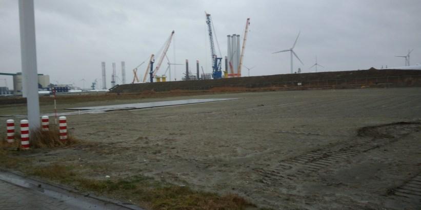 Grondwerk Eemshaven