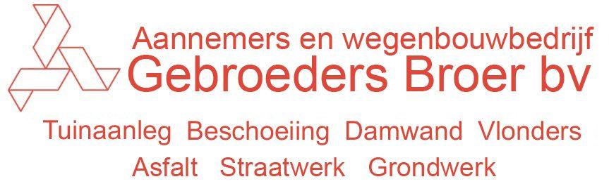Aannemers en wegenbouwbedrijf Gebroeders Broer