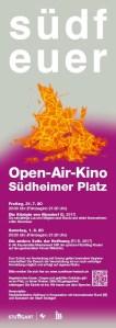 Open-Air-Kino Südfeuer 2020