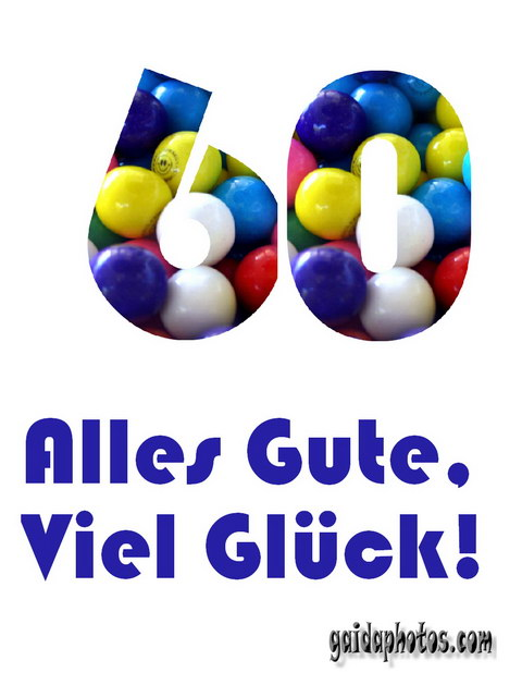 60 Geburtstag Kostenlose Danksagungskartengeburtstag Jubilaum