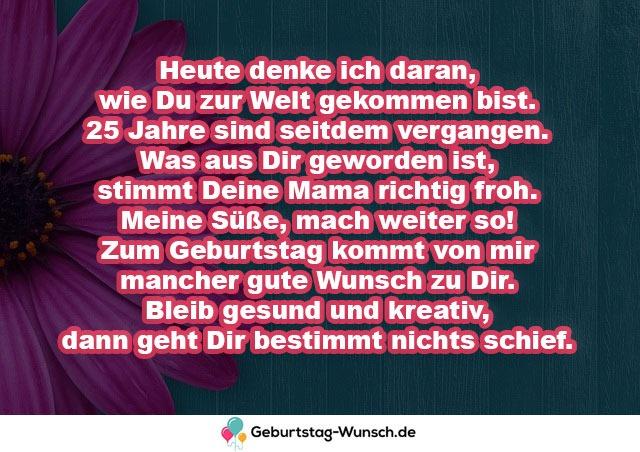 Geburtstagswunsche Fur Tochter 40 Spruche Gedichte Gluckwunsche