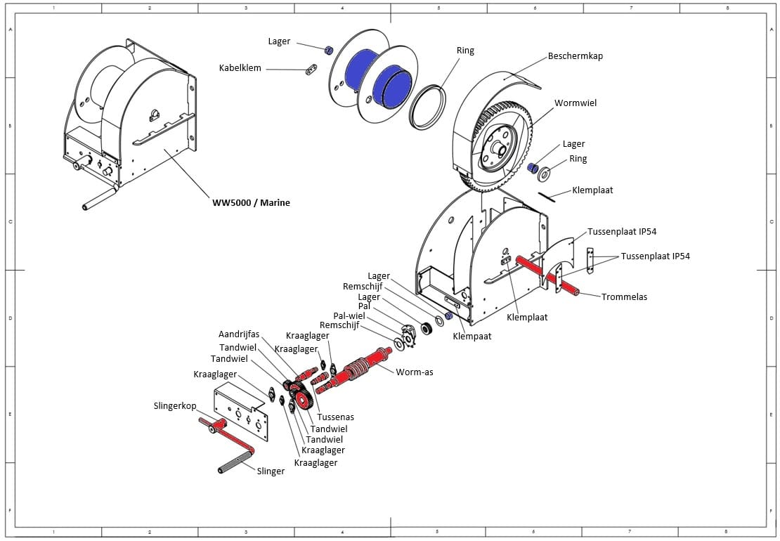 How It S Made The Hand Winch Step 2 Sawing