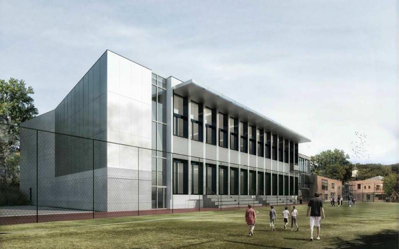 Rénovation et extension du gymnase à Ville d'Avray