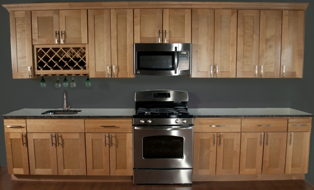 Quality Northern Maple Kitchen Cabinets In Minneapolis, USA