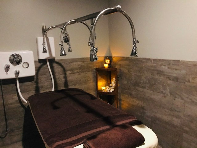 Woodhouse Day spa Vichy treatment