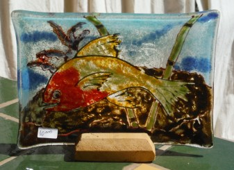 Fish Platter - Red and green - C8,000