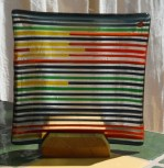 Stripes - Red, yellow, and teal - C9,500