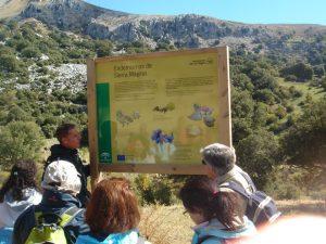 Guía de ruta en el parque natural de sierra mágina