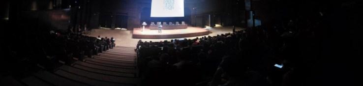 Uso de LINE@ durante la conferencia-workshop de Francisco Javier Soler (Maki), profesor de UTAD