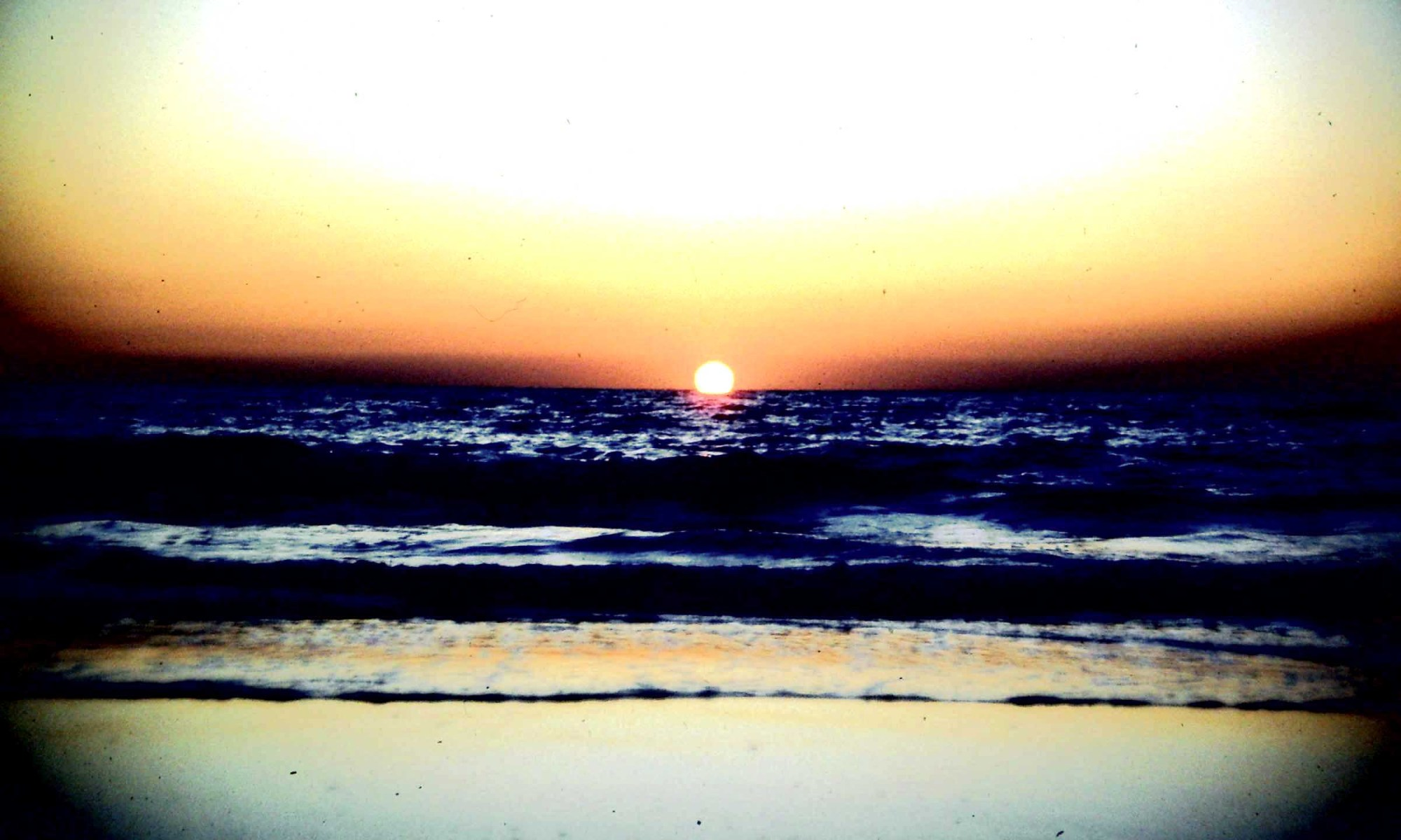 Calangute 1983 Sonnenuntergang (c) Corinne I. Heitz