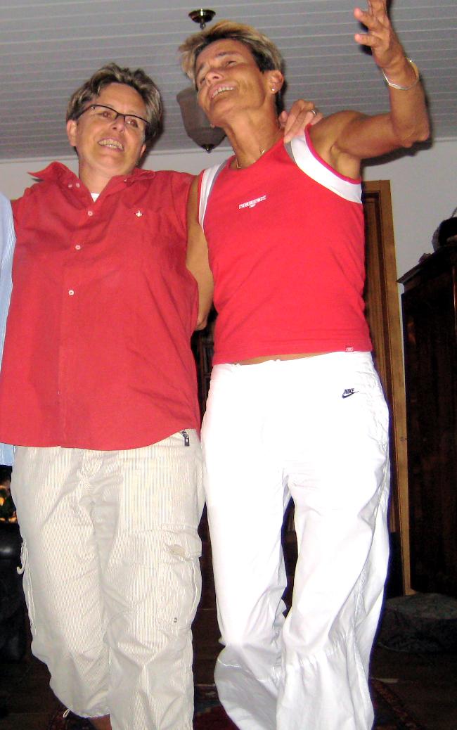 Doris und Corinne 2008