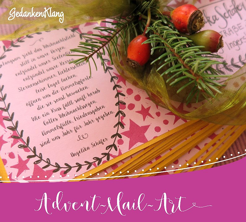 Advent-Mail-Art 2016