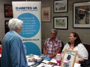 Diabetes UK display